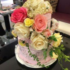 おむつケーキ&アレンジフラワー